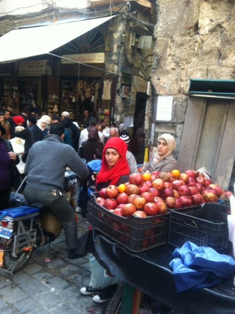 mercato di Damasco